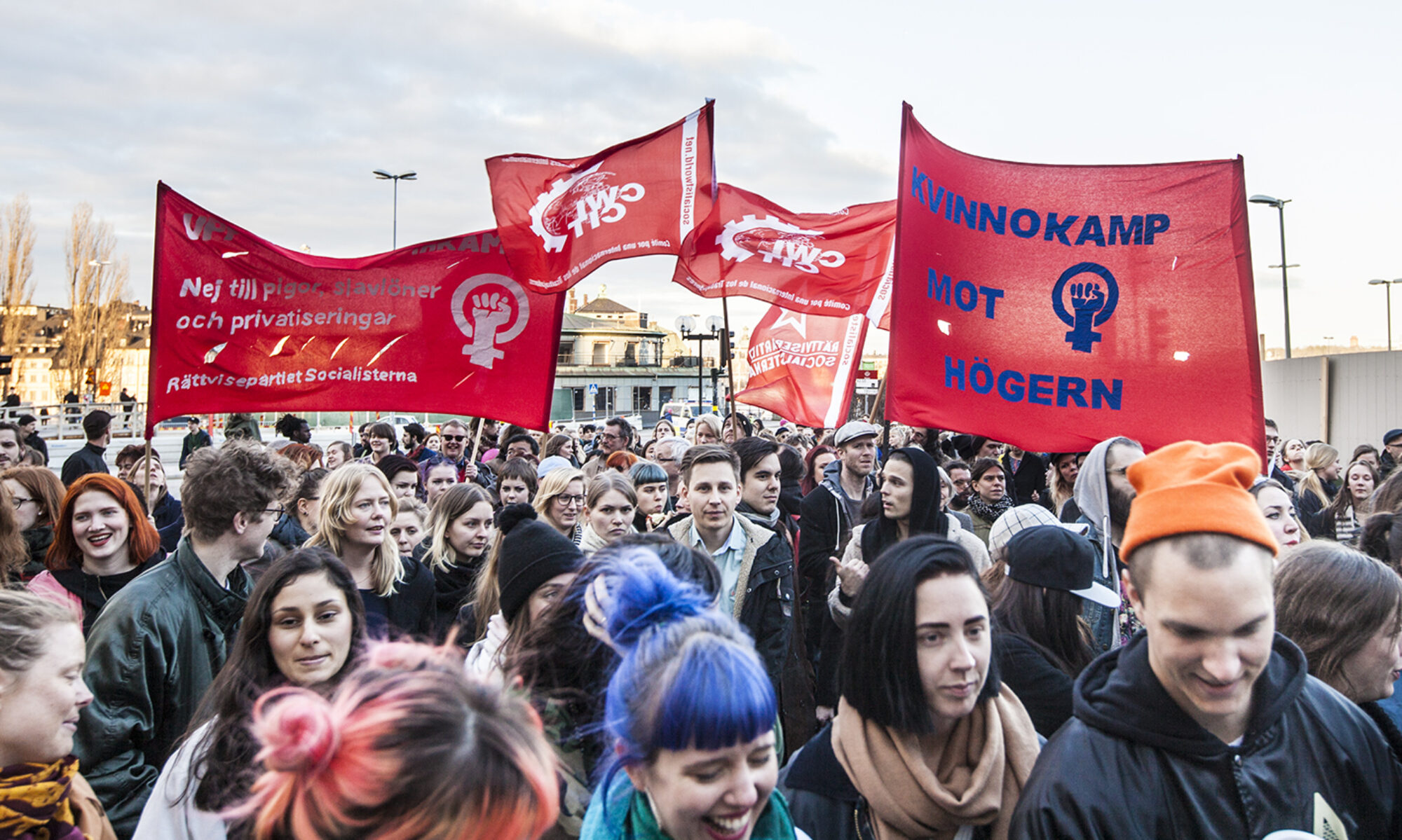 rättvisepartiet socialisterna våld